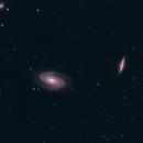 Bode's & Cigar Galaxy (M81 & M82),                                Daniel Caracache