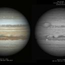 Jupiter on 3 images!,                                  Astroavani - Ava...