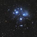Messier 45 - The Pleiades,                                Johannes D. Clausen