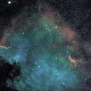 NGC7000 - The America Nebula (Ha-SHO),                                  Olivier Ravayrol