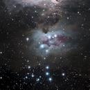 NGC 1973 Running Man Nebula,                    Richard Pattie