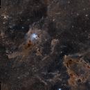 Iris Nebula (NGC7023) Wide Field,                                rallyho