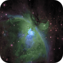 M42 - Heart of Orion Nebula - NB HST + CFHT,                                Barry Brook
