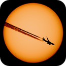 Plane crossing the Sun 2018/01/04,                    Lujafer