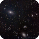 M87 and friends in widefield,                                Ian Dixon