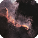 """NGC 7000 """"The Great Wall"""" Bicolor,                                Thomas Hellwing"""
