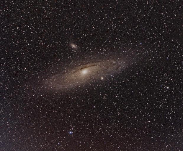 Summer M31,                    dkamen