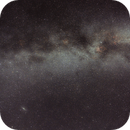 Widefield view of one end of the Milky Way Arm,                                dangillick
