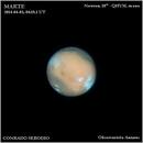Mars, almost in opposition,                                Conrado Serodio