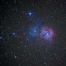 M20 - Trifid Nebula,                                bbonic