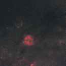 IC 1396 et Sh2-129 en champ large,                                  gabriel
