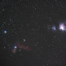 M42 ,IC434,                                icio