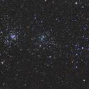 C/2017 T2 (PANSTARRS)  Passes the Double Cluster,                                Scott