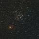 M35 with NGC 2158,                                Nadeem Shah