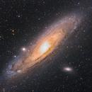 M31 - Andromeda Galaxy,                                Marcel_Astrofoto_81