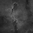 IC1396-Ha-The Elephant Trunk Nebula in Cepheus,                                LazyLightning