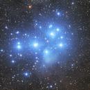 M45 pleiades 1000mm,                                LeCarl99