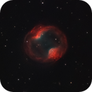 PK164+31-1 Head Phone Nebula on full moons night part two. Now with more exposure and real RGB stars,                                Stephan Linhart