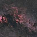 Widefield Cygnus around Sadr,                                Mikael De Ketelaere