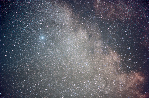 Milky Way with Altair and Barnard's E Nebula,                    Hans-Peter Olsche...