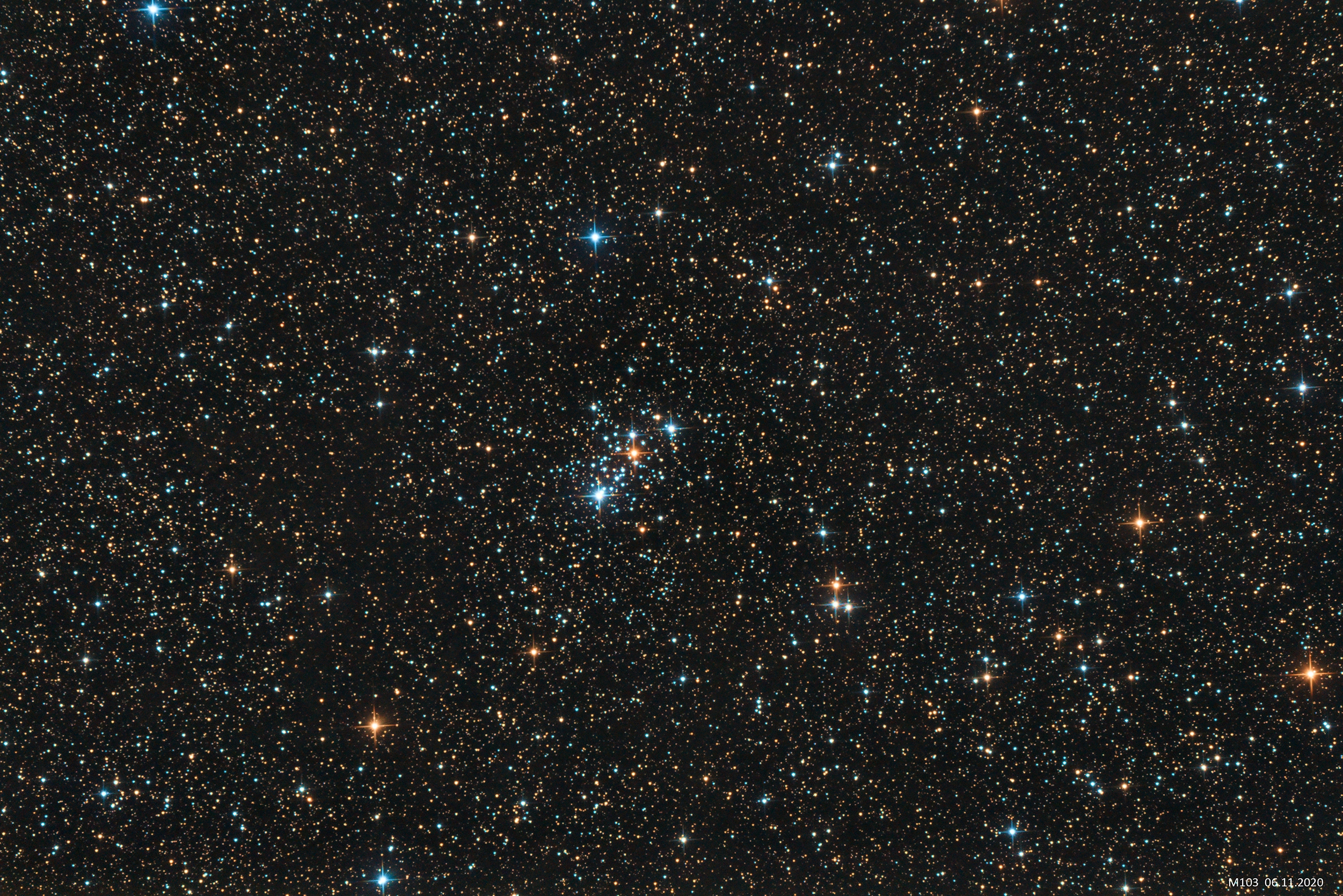 Messier 103,                                Marcus Jungwirth