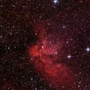 Wizard nebula with IDAS LPS-V4 filter,                                puckja