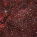 IC1318 NGC6888 ,                                Hata Sung