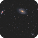 M81, M82 and NCG3077 in HaLRGB,                                Emil Andronic