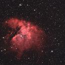 NGC 281 The Pacman Nebula, Cassiopeia 7 e 8 Agosto 2016,                    Ennio Rainaldi