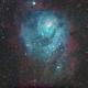 Lagoon Nebula,                                stricnine