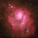 M8 Lagoon Nebula,                                guvenozkan