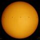 Solar ISS Transit [White Light False Color] - February 2, 2020,                                Brent Newton