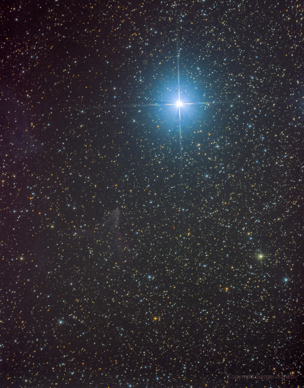 IC63.  The Ghost of Cassiopeia,                                Sergei Sankov