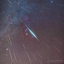 2017 Geminids Meteor Shower,                    Dennis Sprinkle