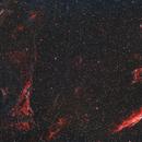 Veil Nebula Complex - using my duo filter,                                Simon