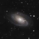 M81 Bode's Galaxy - M82 Cigar Galaxy,                                xs4allan