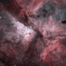 The Great Carina Nebula in Ha and OIII,                                ChrisG_BNE