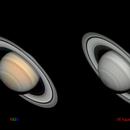 Saturn: RGB and IR 642nm,                                Ecleido Azevedo