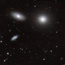 Messier 105/NGC3384/NGC3389,                                Adrie Suijkerbuijk