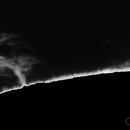 Sun prominences 17/12/15,                                Andrea Tamanti