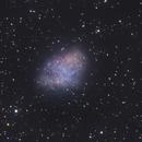 M1 Crab Nebula DSLR,                    Seal