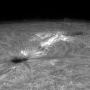 Small flare in AR2684,                                GreatAttractor