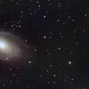 Bode's / Cigar Galaxies - M81, M82 (LRGB),                                Calvin Goodrich