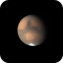 Mars - the iconic Syrtis Major & Hellas Basin and a rapidly shrinking SPC,                                Niall MacNeill