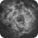 NGC 2237 Rosette nebula,                                LAMAGAT Frederic