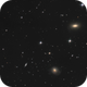 ngc 3619 and company, a small triplet in Ursa Major,                    wimvb