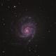 M101 - Pinwheel Galaxy,                                Cristiano Secci