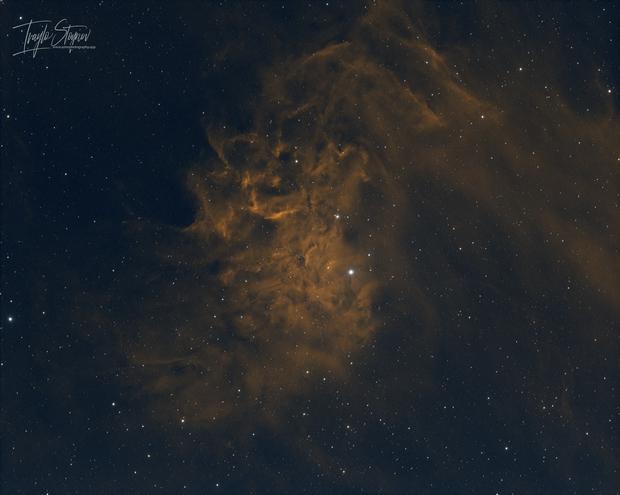 IC 405 - Flaming Star Nebula,                                Ivaylo Stoynov