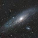 M31 - Andromeda   LRGB+Ha,                                  Edward Overstreet