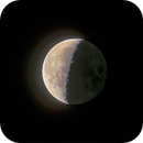 An ode to a waning moon amid the Hyades!,                                Steve Rosenow
